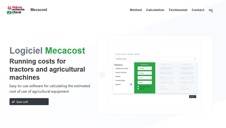 Mecacost tool
